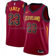 Cleveland Cavaliers Basketball Trikots 2018 LeBron James 23# Road Trikot Swingman..